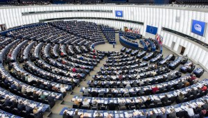 General view of plenary session Week 3 2017 in Strasbourg